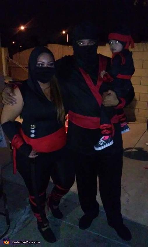 ninja family costume