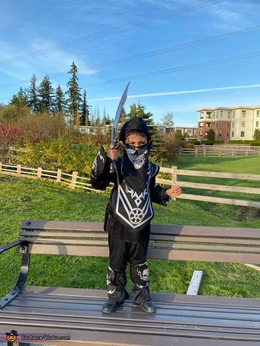 I am the scary ninja, Ninja Kid Costume