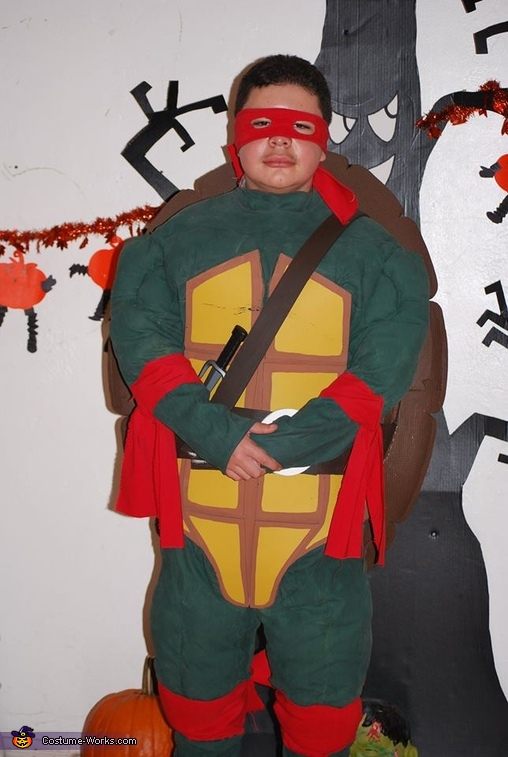 dance school party , Ninja Turtle Costume