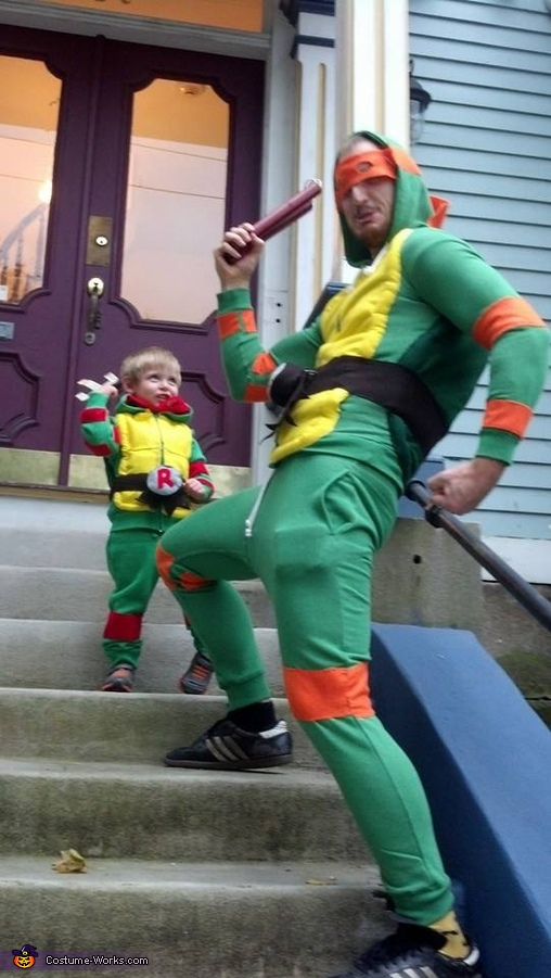 Ninja Turtle Homemade Costume