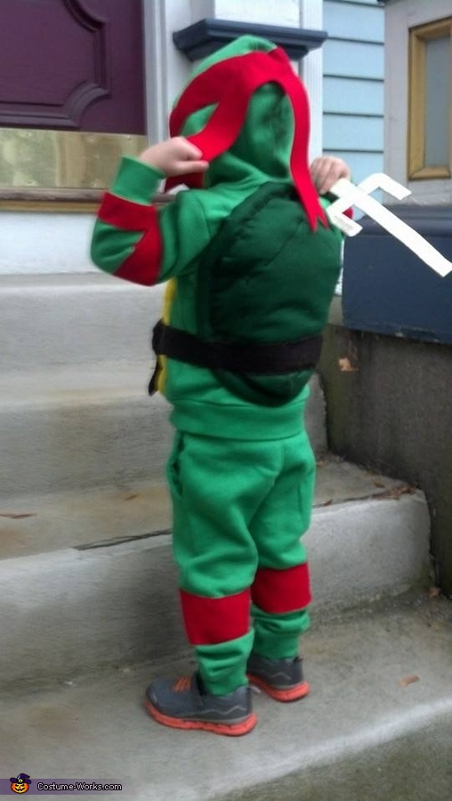 Ninja back, Ninja Turtle Costume