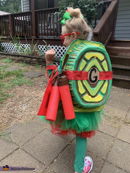 Shell, Ninja Turtle Costume