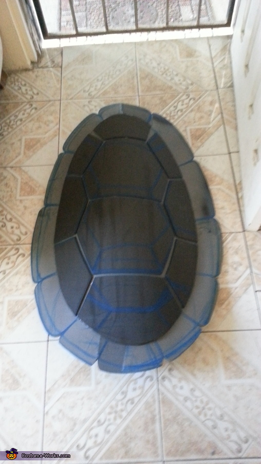 the shell part 1, Ninja Turtle Costume