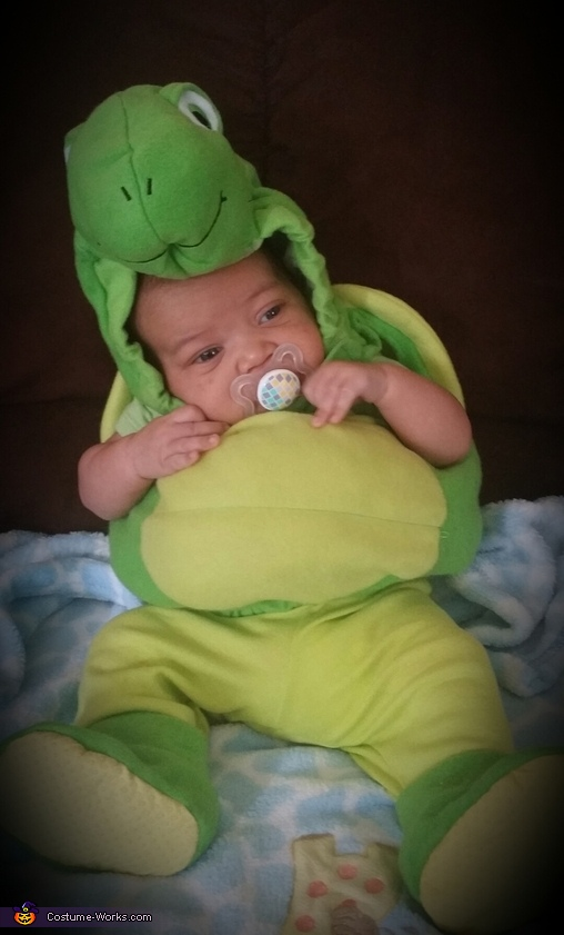 its turtle time!!!, Ninja Turtle Baby Costume