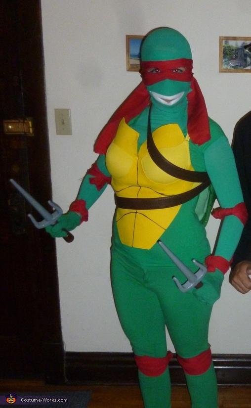 ninja turtle raphael costume