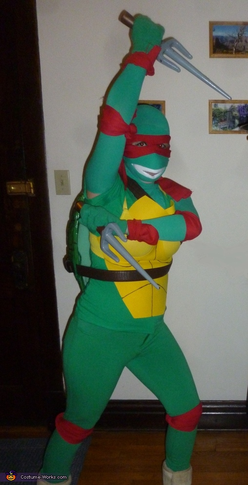 Ninja Turtle Raphael Homemade Costume