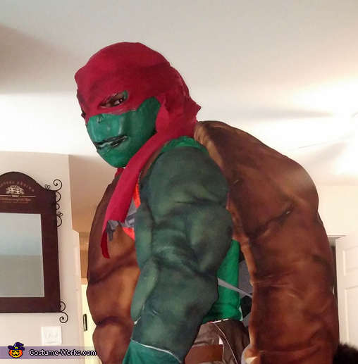 Homemade costumes for men costume works page 1843 ninja turtle raphael homemade costume solutioingenieria Image collections