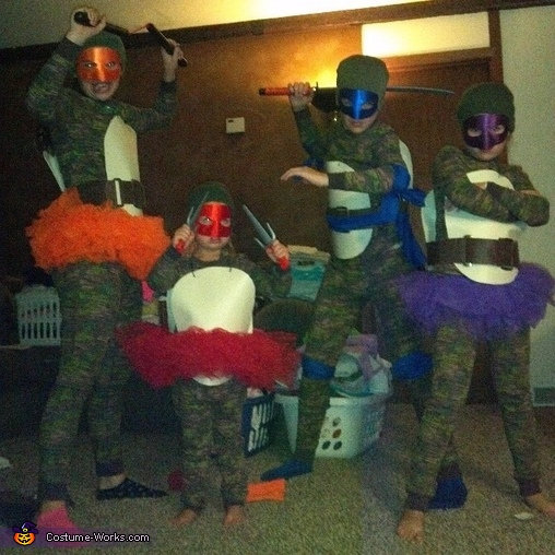 Teenage Mutant Ninja turtles, Ninja Turtles Family Costume