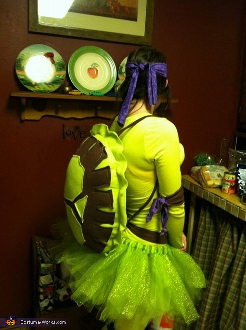 Ninja Turtles Homemade Costume
