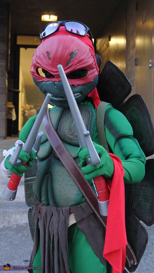 Raphael, Ninja Turtles Family Costume