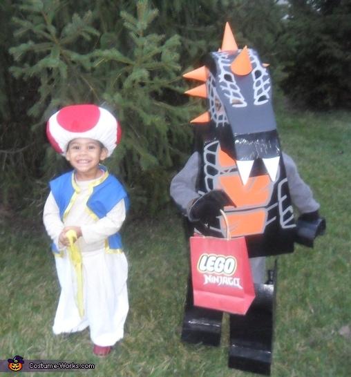 Ninjago Bytar and Mario Toad, Ninjago Bytar Costume