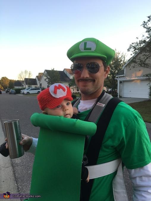 Mario and Luigi, Nintendo Family Costume