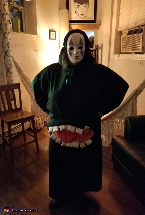 No Face Costume
