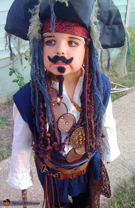 nO it is I, the real Jack!. Jack Sparrow - Homemade costumes for boys