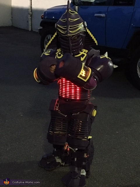 Noisy Boy Robot Costume Photo 2 2