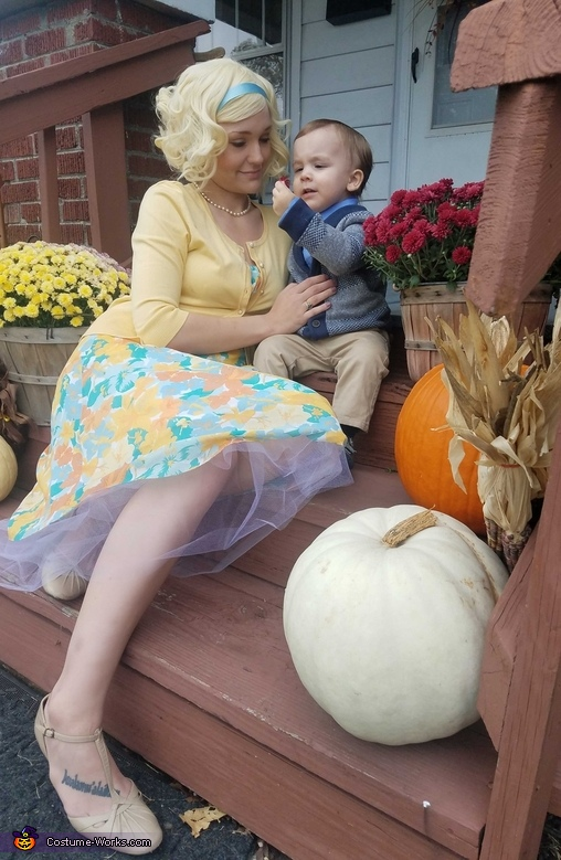 Norma and Norman Bates Costume