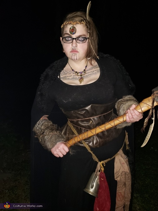 The calm before the storm, Norse Warrior Costume