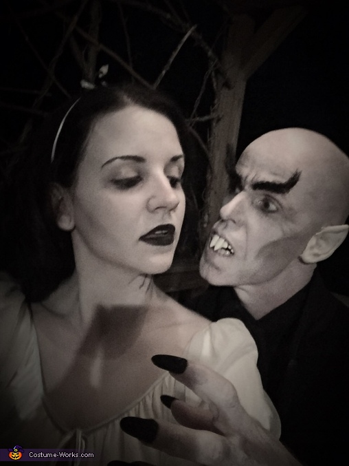 Nosferatu and Victim Costume