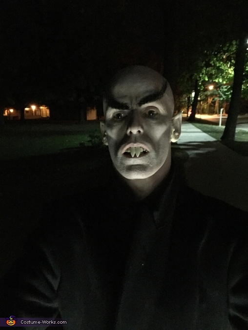 Closeup, Nosferatu and Victim Costume