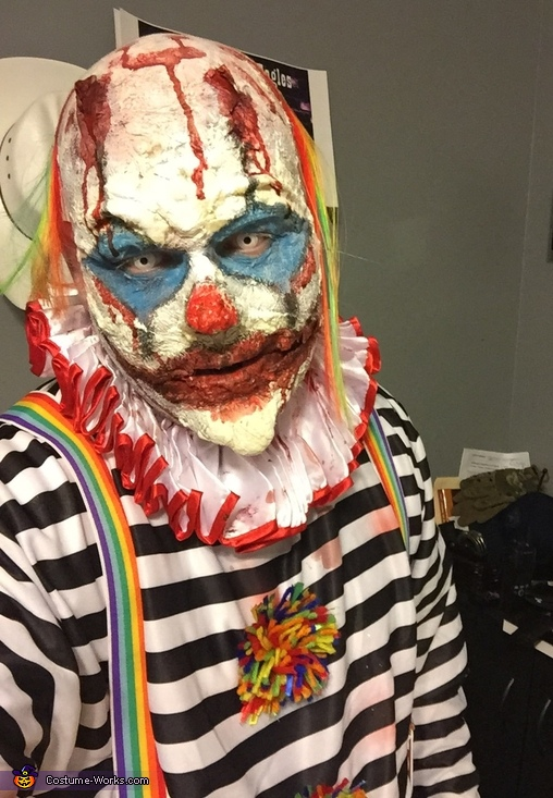 Not So Funny Clown Costume