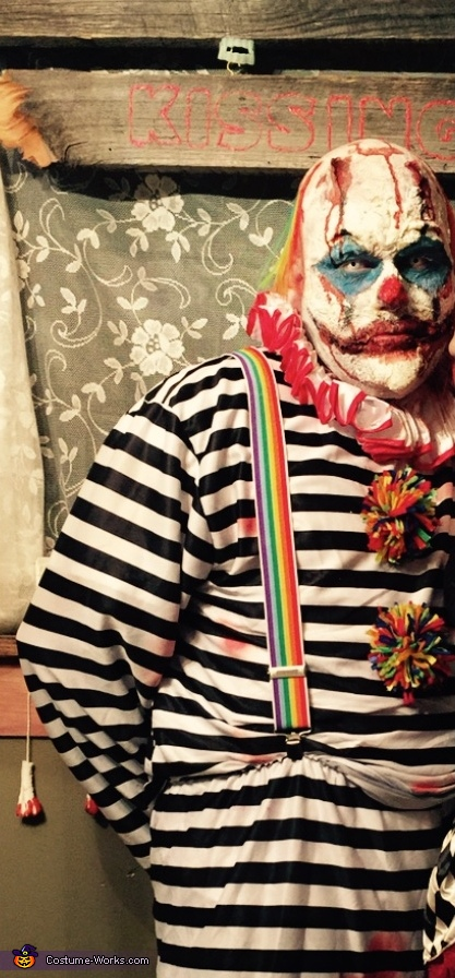 Not So Funny Clown Homemade Costume