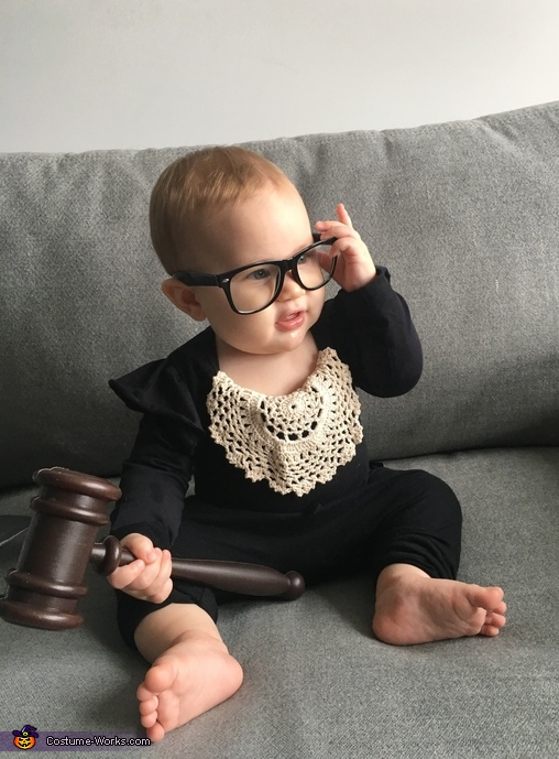 Notorious RBG Baby Costume