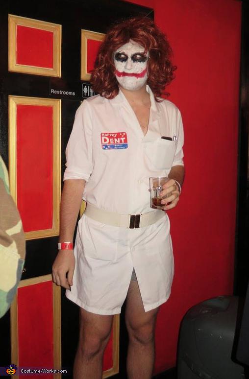 Nurse Joker Homemade Costume