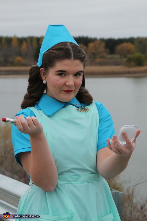 Nurse Trainee Dolly from Ratched Homemade Costume