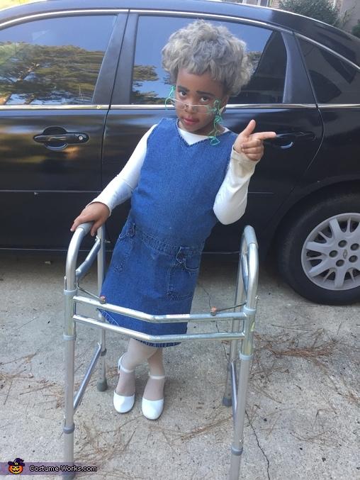 Nursing Home Homemade Costume