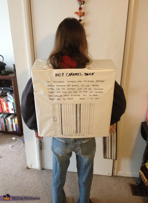 Homemade Nutmeg Spice Costume