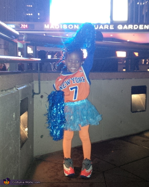 NY Knicks City Dancer Cheerleader Costume
