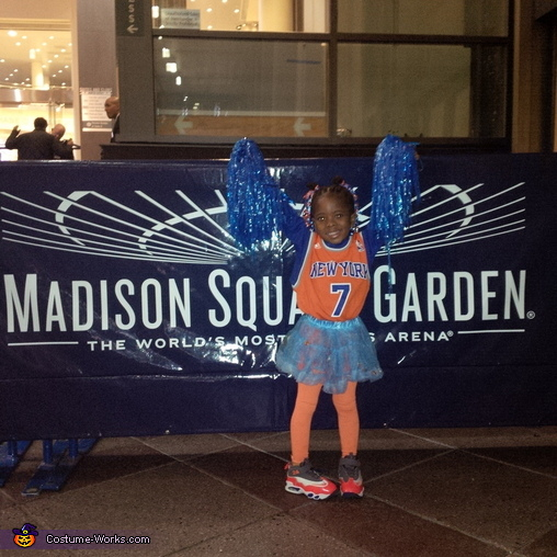 NY Knicks City Dancer Cheerleader Homemade Costume