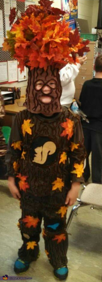 Oak Tree Costume