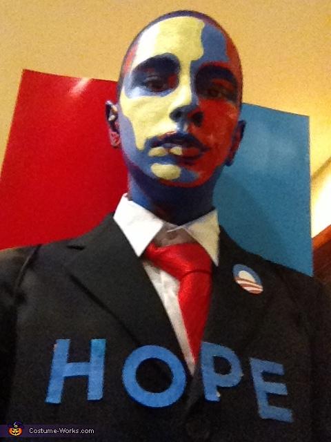 Obama's Classic Poster Costume