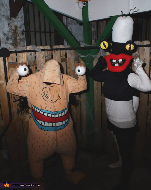 Aahh!!! Real Monsters: Oblina and Krumm Costume