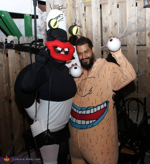 Oblina and Krumm from Ahh Real Monsters, Aahh!!! Real Monsters: Oblina and Krumm Costume