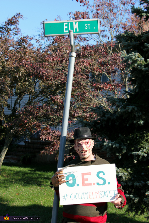 Occupy Elm Street Freddy Kruger Costume