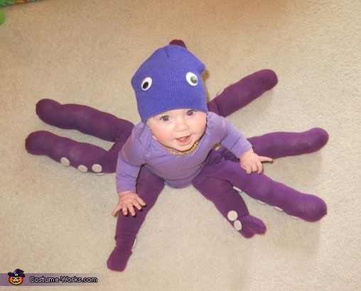 Sophie The Octopus, Octopus Baby Costume