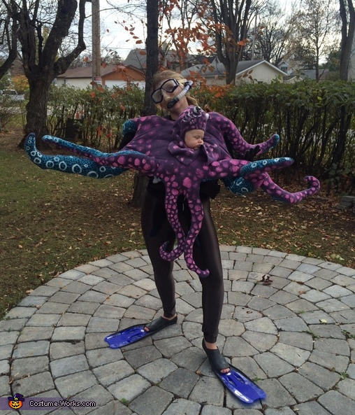 Tentacles , Octopus Baby Costume