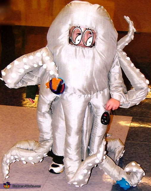 Octopussy - Homemade costumes for kids