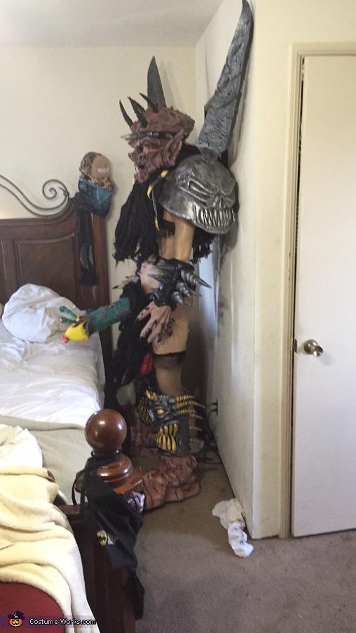 Oderus Urungus Homemade Costume