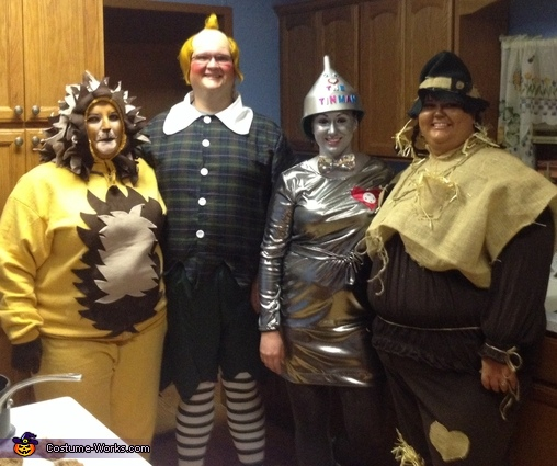 We're Off to See the Wizard Group Costume