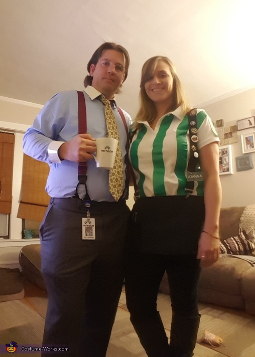Office Space Bill Lumberg & Joanna Costume