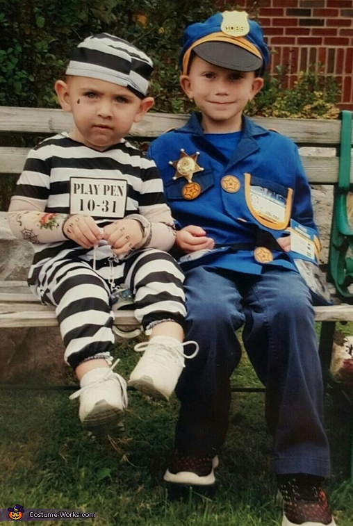 Officer and Inmate Costume