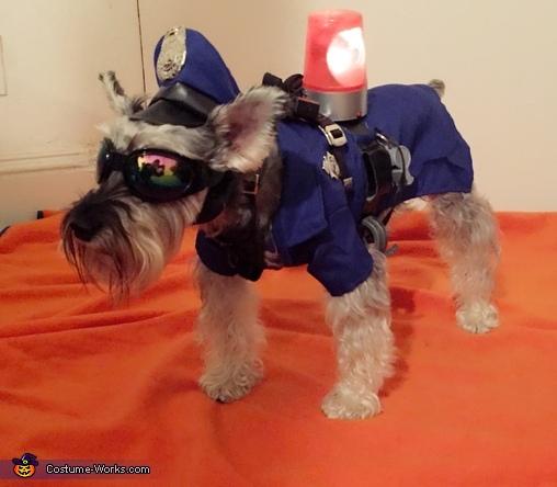 Officer Dog Costume