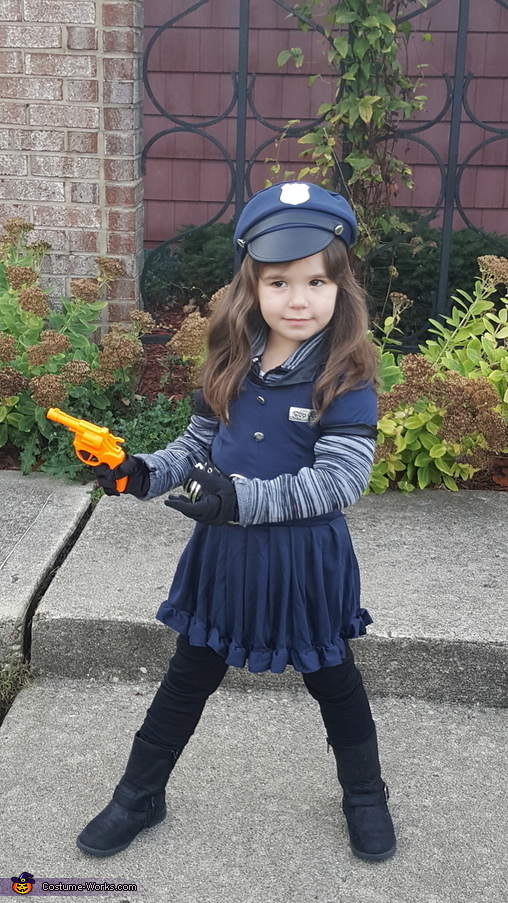 Hand over the candy and we will be dandy., Officer Riley - Law and Cuteness Costume