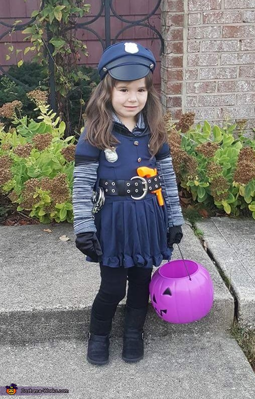 Officer Riley - Law and Cuteness Costume
