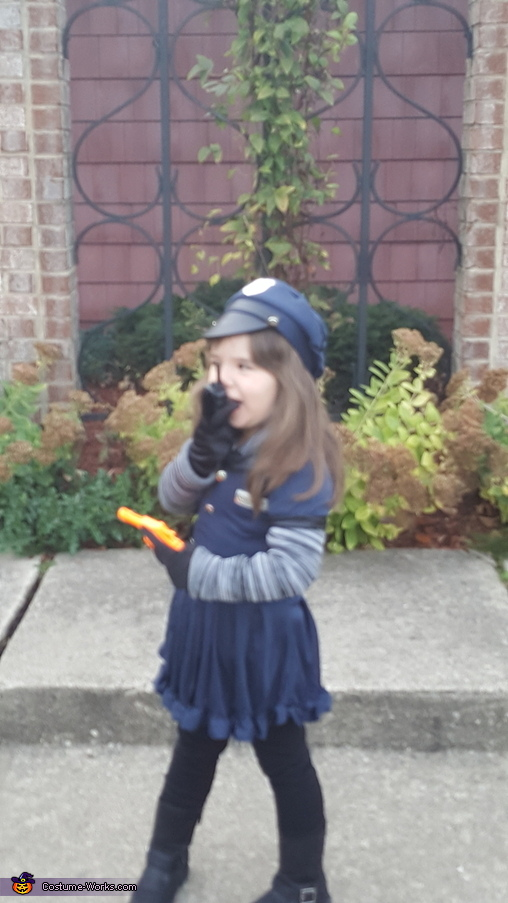 Calling all units things are about to get cute., Officer Riley - Law and Cuteness Costume
