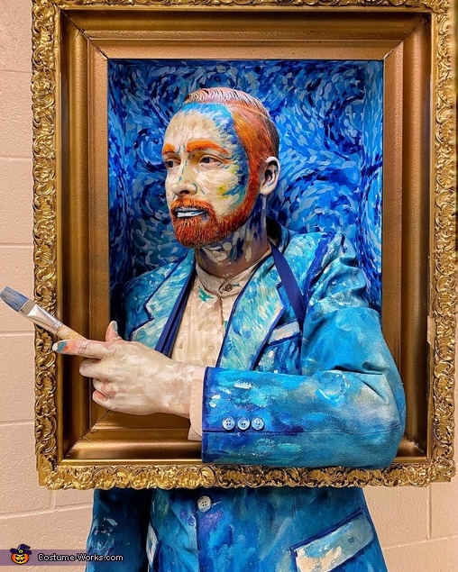 Oh My Gogh Homemade Costume