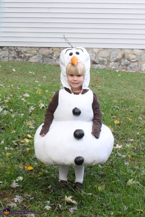 Do you want to build a snowman?, Olaf from Frozen Costume